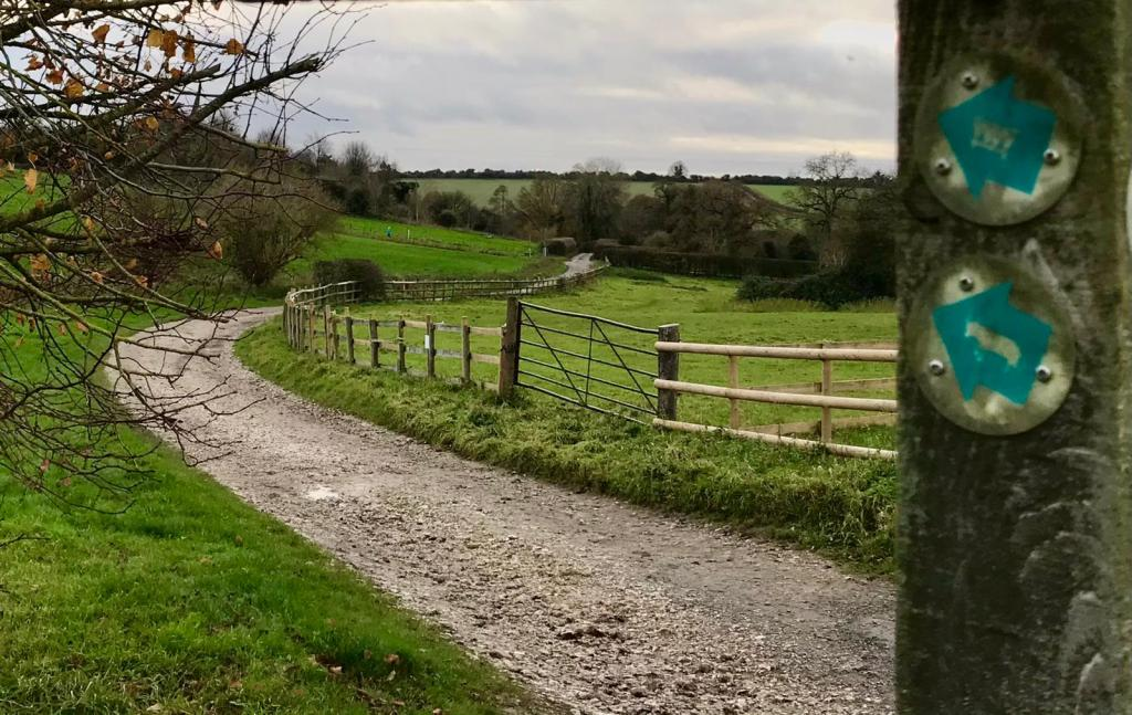 path with finger posts